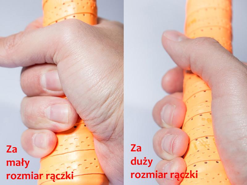 Rozmiar rączki rakiety tenisowej jak zmierzyć? | Sklep